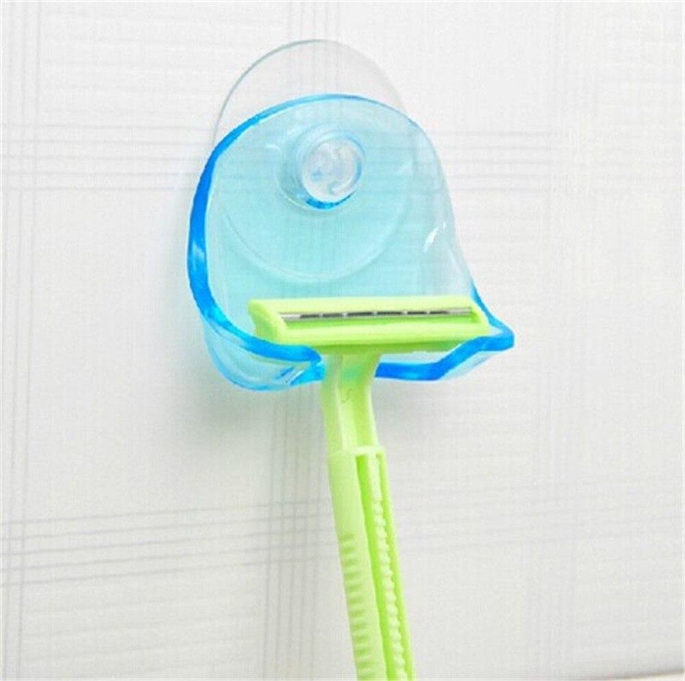 Toothbrush Shaver Holder Washroom Wall Adhesive Razor Bathroom Rack Hook Tools