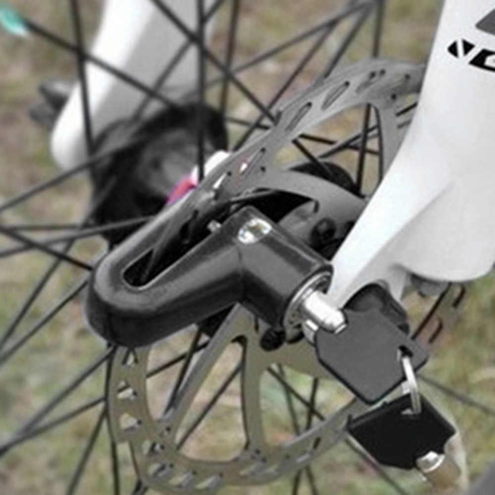 Panas Anti Theft Disk Rotor Rem Cakram untuk Skuter Sepeda Sepeda Motor Safetylock untuk Skuter Sepeda Motor Keselamatan