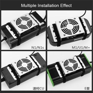 Image 4 - Pour NIU N1s/M1/U1/M + U + Scooter électrique chargeur Electrombile ventilateur de refroidissement ventilateur silencieux US accessoires modifiés