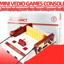 Classic Nostalgic 8 bit Video Games Console Player with 2 Joystick + 500 IN 1 Game Card Game Player to TV(China)