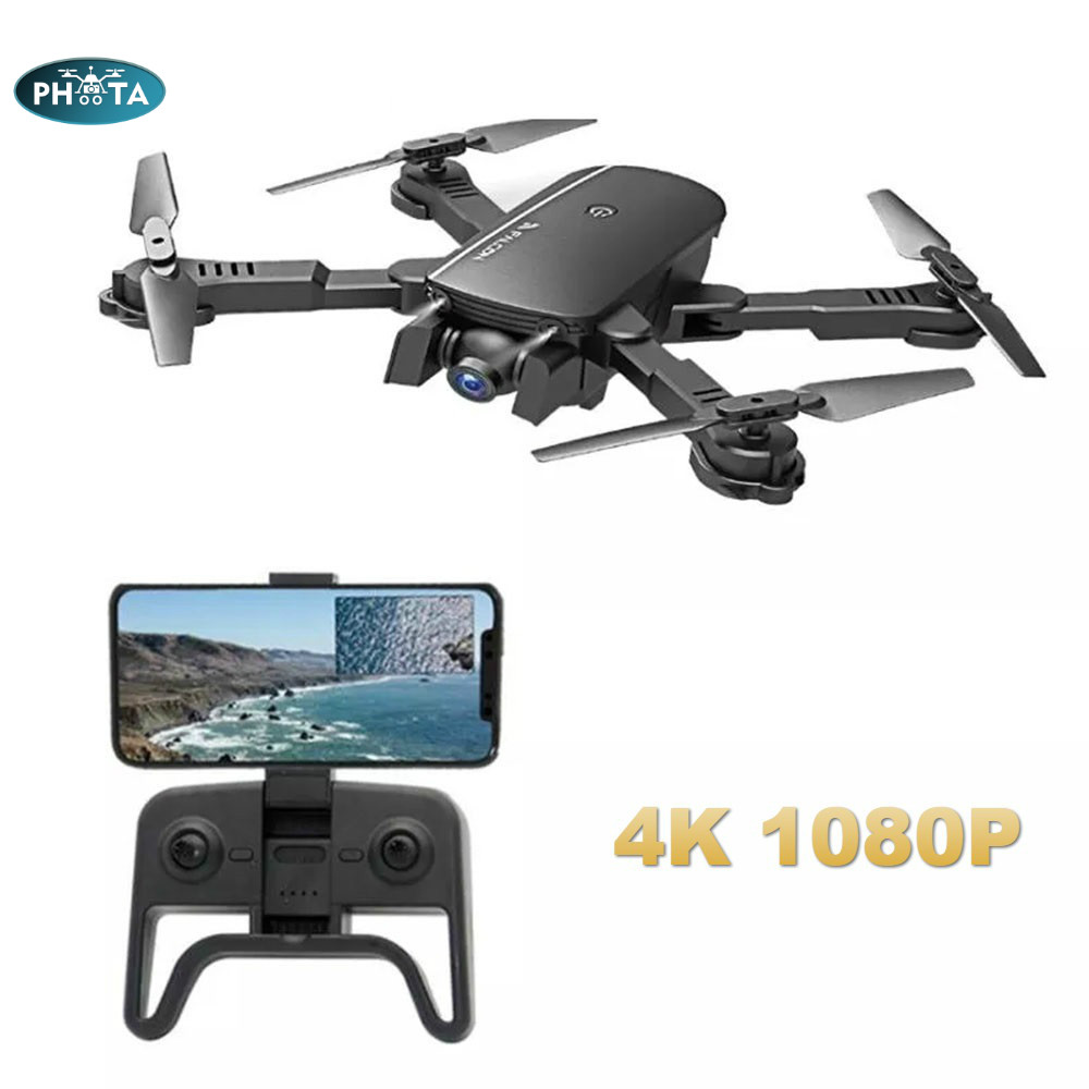 RC Drone 4K HD Camera Quadcopter  Wifi FPV  Flow Positioning Gesture Photo Dron Vs sg106 Visuo xs816