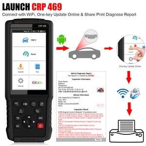 Image 5 - השקת CRP469 WIFI OBD2 רכב רכב סורק אבחון כלי ABS EPB DPF איפוס TPMS OBD 2 אוטומטי קוד קורא OBD2 סורק