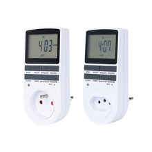 2019 CE Bersertifikat Paling Ideal Timer Soket Digital Timer 220 V 230V 240V Timer Switch EU UK AU AS FR Gaya dengan 10 Kali Di Off(China)