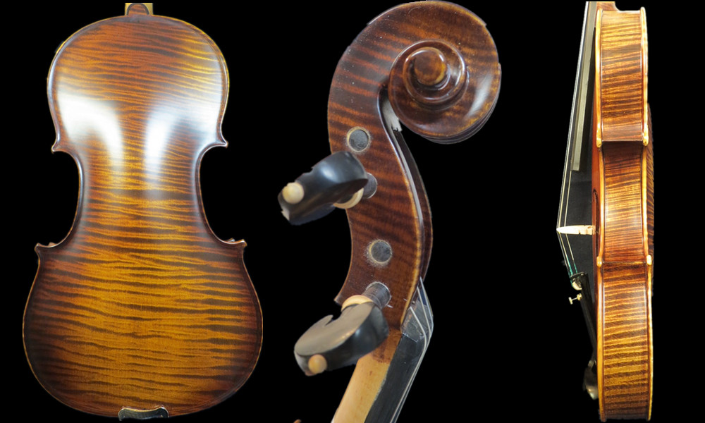 Strad style SONG Brand Master violin of Concert 4/4,100 years spruce top #14807