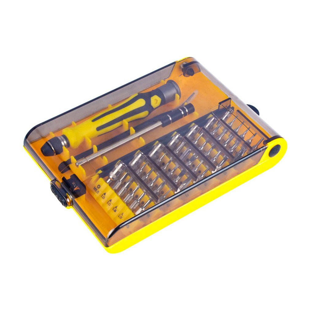 45 шт. прецизионный Многоцелевой Набор отверток для мобильного телефона компьютера ПК Ремонт Разборка части сменные инструменты