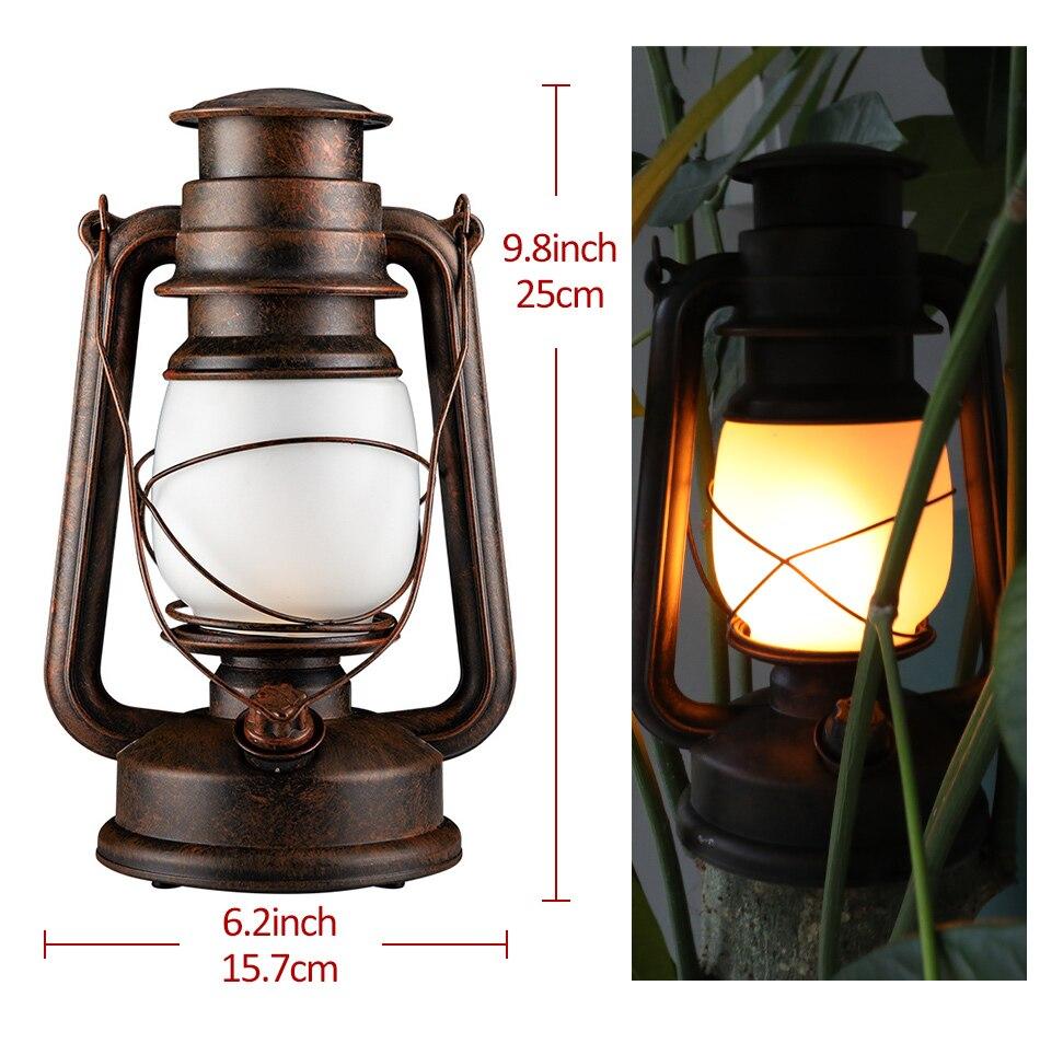 ao ar livre iluminação decoração para casa lâmpada de acampamento