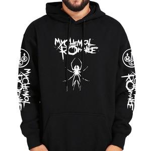 Image 2 - My Chemical Romance Hoodies Schwarz Parade Punk Emo Rock Hoodie Mode Herbst Sweatshirts Herbst Winter Mantel