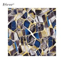 DICOR 45/90*200cm Irregular Square Stone Stained Window Film For Home Decor Modern Fashion 2019 New BLT2325KJ