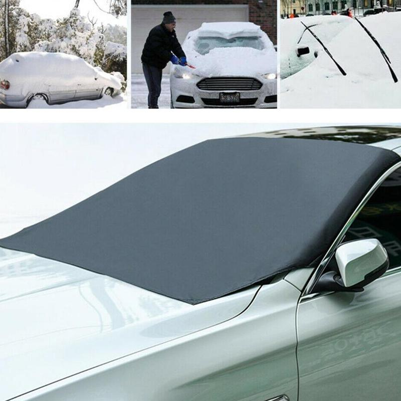 210 * 125cm Car Windshield Cover Car Umbrella Covers Windscreen Cover Heat Sun Shade Anti Snow Frost Ice Shield Dust Protector|Car Covers| |  - title=