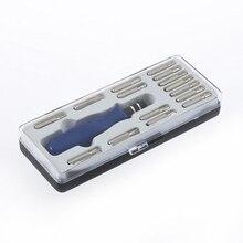 Новое поступление, портативный мини-набор отверток 16 в 1, отвертка для мобильного телефона, ноутбука, ремонта, Набор отверток T5 T6 T8 T10 T15