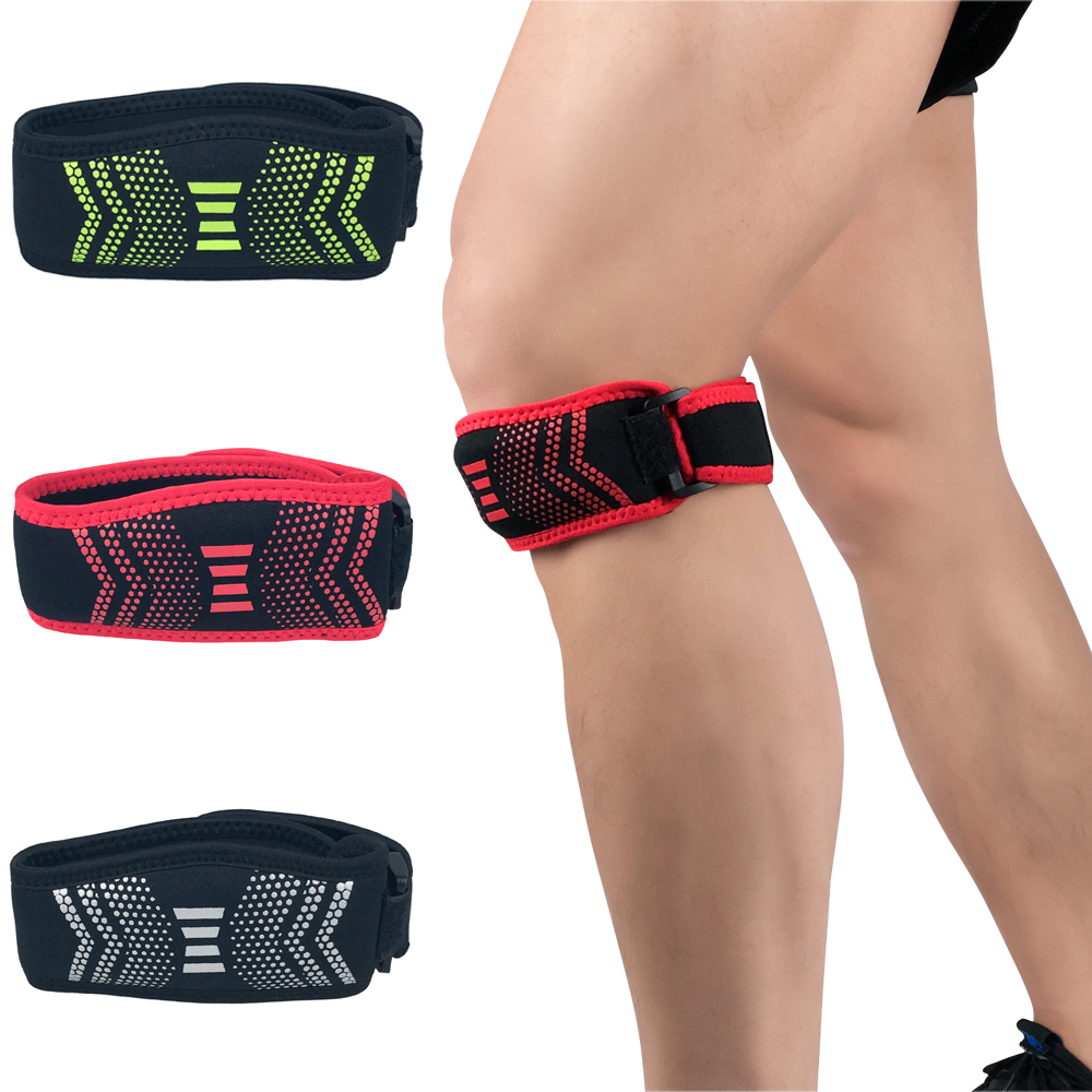 1 Piece Sports Adjustable Patella Knee Protection Strap Support Training Running