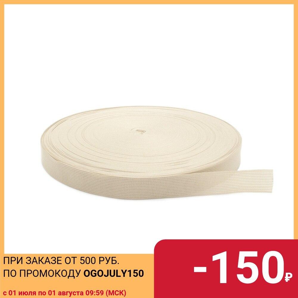 C516 braid edging 2,4 cm * 100 m (3.8gr/M) (068 St. beige), 100 m