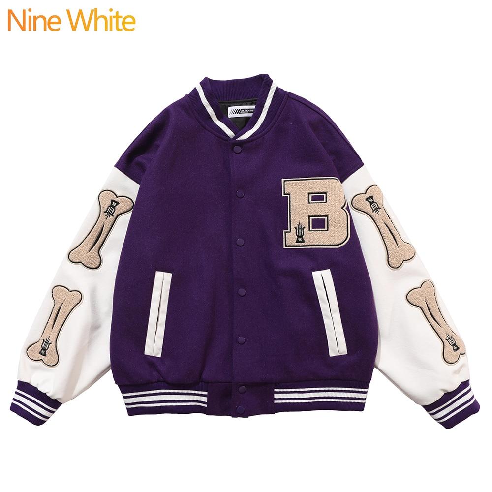 Hip-hop oversized hoodie sweatshirt men 2020 streetwear Harajuku hooded loose fashionable wool fleece sweater baseball uniform 1