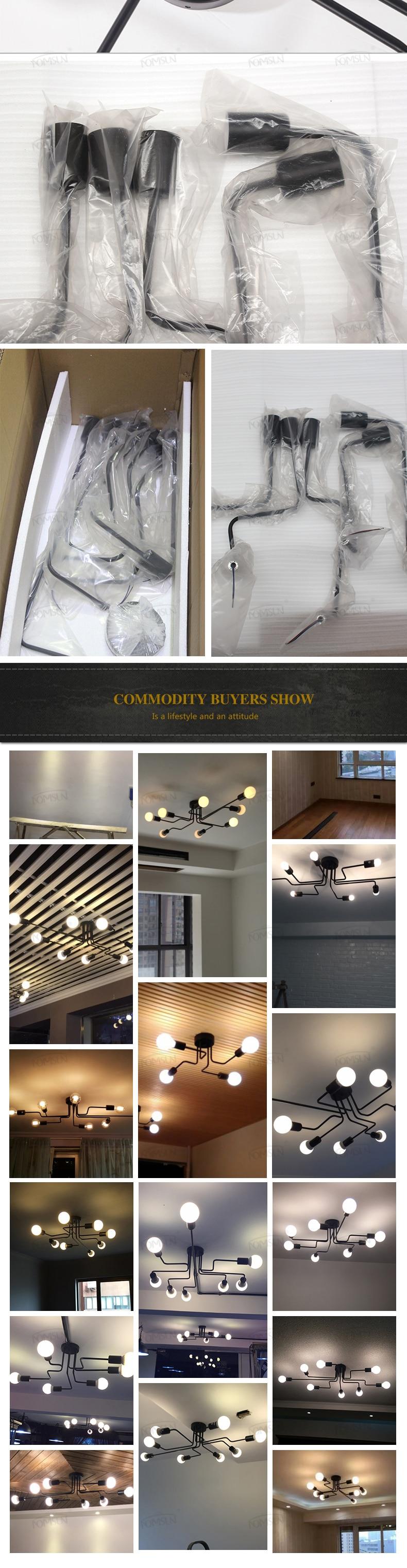 H3db08347434841d1894fea37404926996 vintage ceiling lights 8 heads retro industrial lamparas de techo restaurant loft modern ceiling lamp bar cafe dining room light