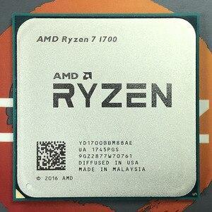Image 3 - AMD Ryzen 7 1700 R7 1700 CPU Prozessor 8Core 16 Themen AM4 3,0 GHz TDP 65W 20MB cache 14nm DDR4 Desktop YD1700BBM88AE
