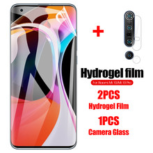 3-In-1 Camera + Hydrogel Film Voor Xiaomi Mi 10 5G Pro Screen Protector Film Voor xiaomi Mi10pro Mi10 5G Mi 10 5G Niet Glas(China)