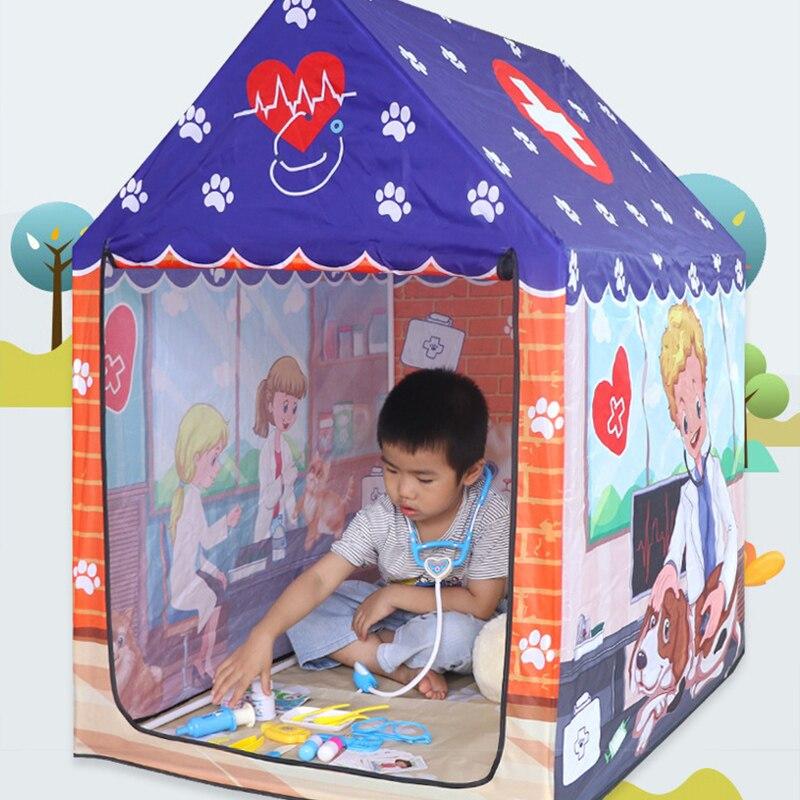 kit tenda de brinquedo educacional brinquedos para 04