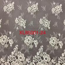 Cheap Wholesale Chantilly Eyelash Lace Garment Soft French  Tulle Lace For Wedding Dress 9 Yards