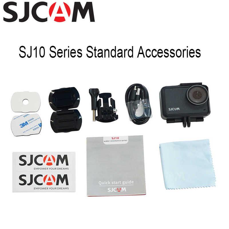 SJCAM SJ10 Pro Supersmooth Con Quay Ổn Định Wifi Điều Khiển Hành Động Từ Xa Camera H22 Chipset 4K/60FPS EIS Ultra HD Cực Chất camera Thể Thao