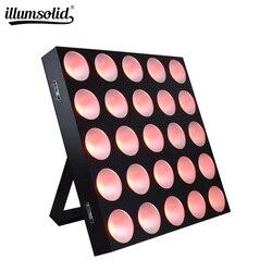 Matryca led dmx światło dyskotekowe RGB oświetlenie sceniczne sprzęt dj do klubu na imprezę weselną w Oświetlenie sceniczne od Lampy i oświetlenie na