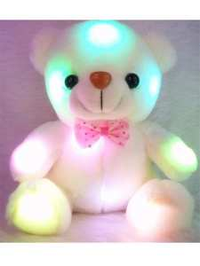 Light-Up-Toys Plush-Toy Teddy Teddy-Bear-Stuffed Animals Valentine 20cm Christmas-Gifts