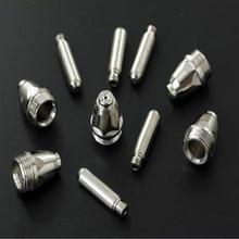цена Plasma welding nozzle Plasma cutting machine LGK/CUT-60 AG60 SG55 P80 Electrode nozzle Conductive nozzle 10PCS/LOT онлайн в 2017 году
