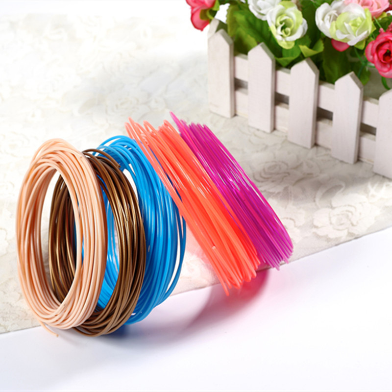 Factory Source 3d Printing Consumables Materials 3d Printing Pen Consumables Pla / Abs / Low Temperature Pcl Wire 1.75mm