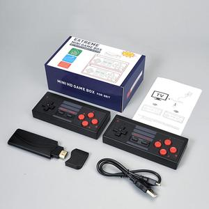 Mini 8Bit 4K HDMI Video Game Console Built in 628 Classic Games Retro TV Console Box Wireless Controller HDMI Output Dual Player