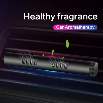 Samochód samochód wylot powietrza aromaterapia wnętrza samochodu trwałe światło zapach dekoracji odświeżacz powietrza TSLM1 tanie i dobre opinie CN (pochodzenie) plastic Lemon Stałe Aromatherapy Clip Air freshener dropshipping