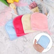Перчатки для снятия макияжа перчатки очистки лица салфетки накладки
