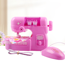 Mini Sewing Machine Toy Simulation Small Household Kids Pretend Play Toys Role Play Early Educational Toy Gift 18.5*8.8*15 Cm simulation rc battle tank toy 516 voiced mode and unvoiced mode switch 2 colors optional educational toy kids best gift toy play
