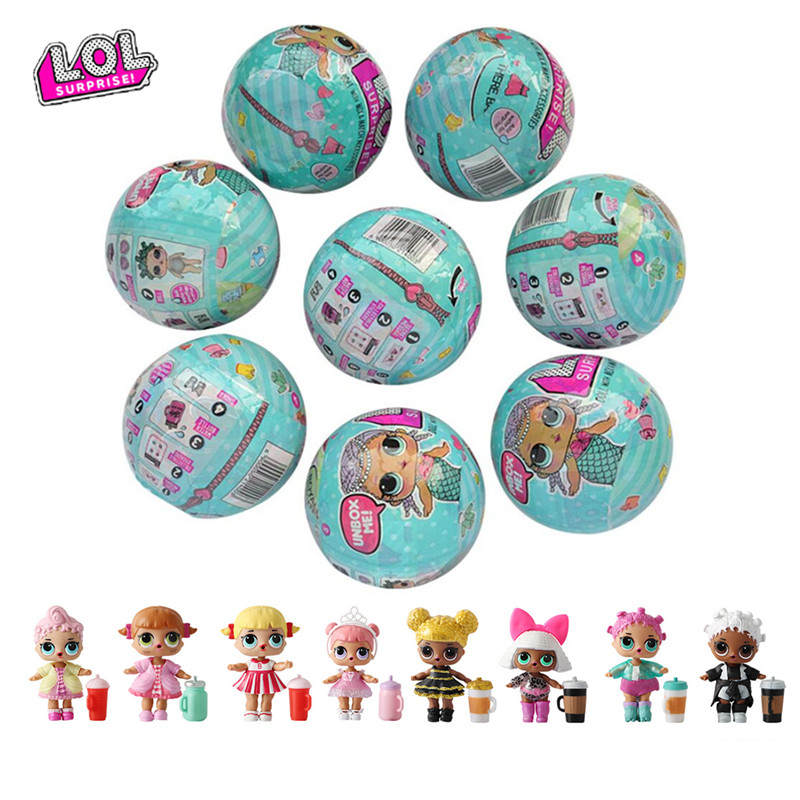 L O L. Surprise! Haha surprise doll toy cartoon doll generation DIY blind box cartoon model doll toy lol set gift randomly sent