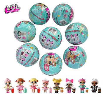 L O L. Surprise! Haha surprise doll toy cartoon generation DIY blind box model lol set gift randomly sent - discount item  17% OFF Dolls & Accessories