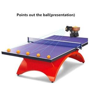 Image 3 - מקצועי טניס שולחן רובוט פינג פונג מכונת נייד חסכוני משולבת רובוטים (משלוח 80pcs כדורי מהיר חינם)