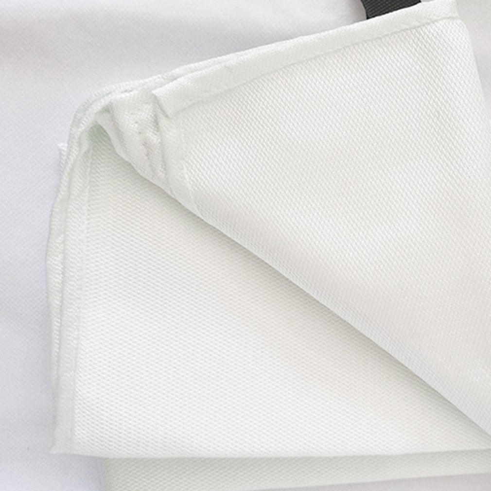 1.2Mx1.8M Fire Blanket Fiberglass Fire Flame Retardant Emergency Survival White Fire Shelter Safety Cover Fire Emergency Blanket