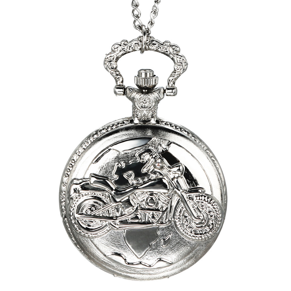 Vintage Chain Retro The Greatest Pocket Watch Necklace For Grandpa Dad Gifts Watch Clock Wholesale Relogio De Bolso #4D23