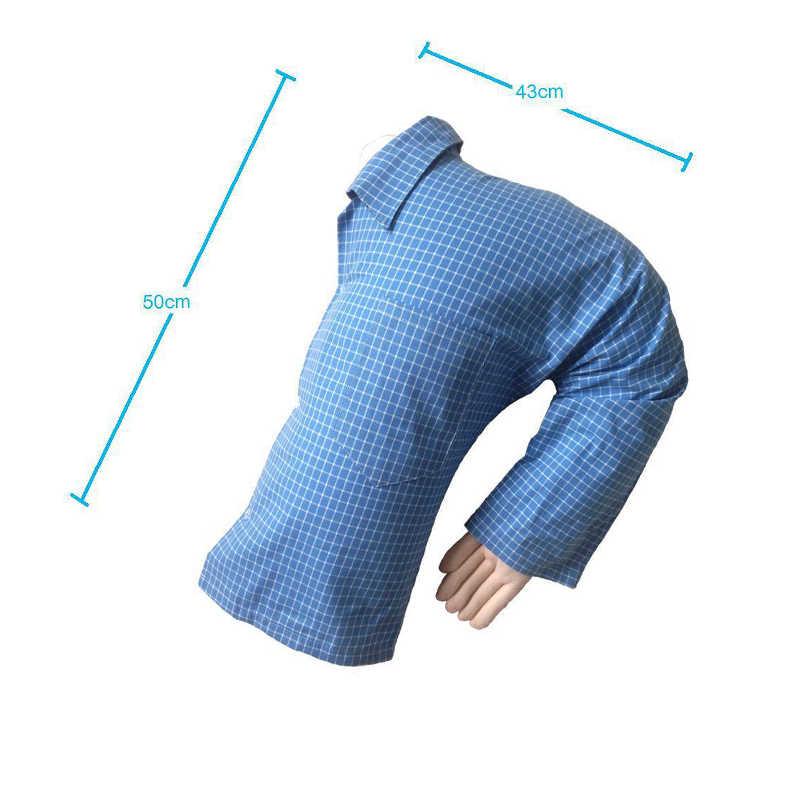 Sevimli erkek arkadaşı kol vücut şekli atmak yastık omuz yastık U-tipi kol uyku kol tek kişi şekli sevimli yaratıcı yastık