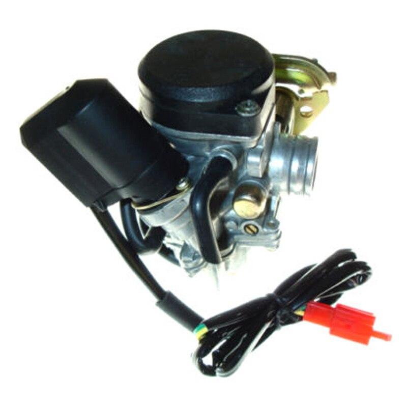 49cc 50CC GY6 Китай (материк) для мотовездеходов, скутеров и мопедов PD18J карбюратор для QMB139