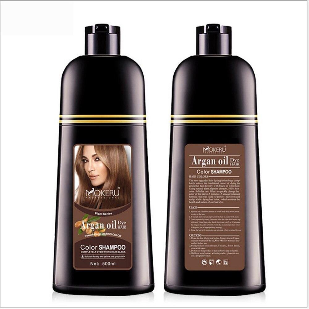de cabelo instantânea shampoo cor do cabelo