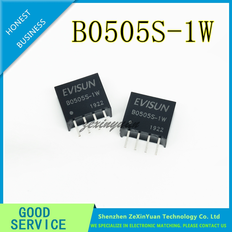 20PCS B0505S-1W B0505S DC-DC SIP4 New Original