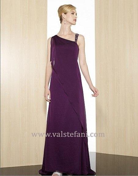 Free Shipping 2018 New Arrival Maxi Women's Design Vestido De Festa Gala Colorful Long Purple Elegant Party Bridesmaid Dresses