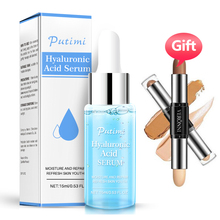 PUTIMI Hyaluronic Acid Essence Face Serum Moisturizing Whitening Cream Anti-Aging Anti-Wrinkle Lifting Skin Care