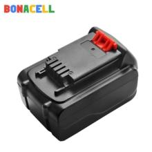 1PCs 18V/20V 4500mAh Li-ion Rechargeable Battery Power Tool Replacement Battery for BLACK & DECKER LB20 LBX20 LBXR20 li polymer li pol 18v 19v 20v 10ah rechargeable battery for laptops power bank 5v usb buck converter