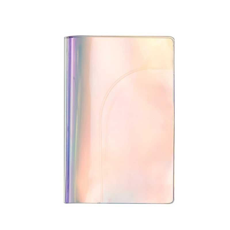 Fashion Laser Paillette PVC Passport Holder Cover Women Storage Organizer Card Case Busines Credit Wallet Travel Accessories