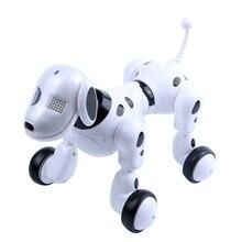 Беспроводной пульт дистанционного управления умный робот собака Ван Син электрическая собака Раннее Образование Развивающие игрушки для детей(белый