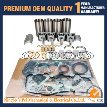 V3300 V3300-DI-T repair Overhaul Rebuild Kit For Kubota Engine Piston Ring Gasket Set