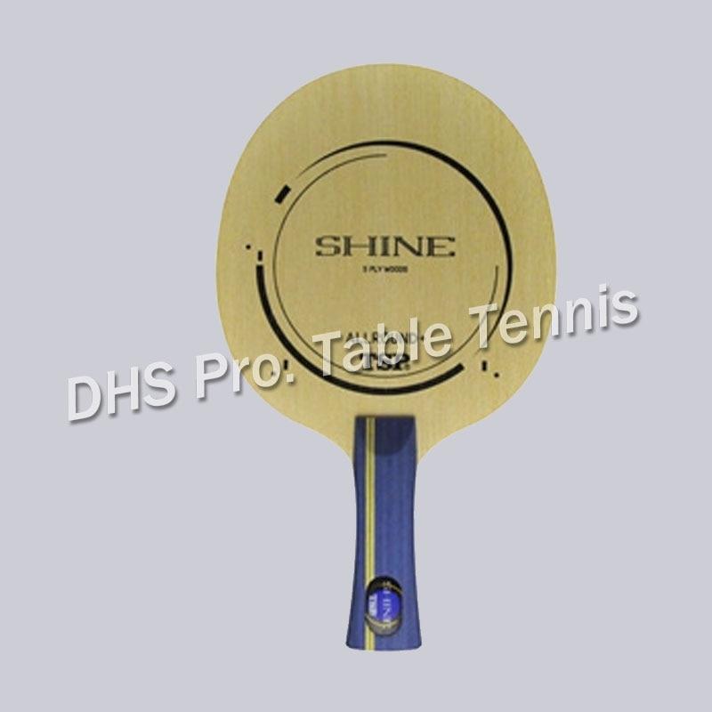 TSP SHINE 26174 Allroud 5 Woods Deofensive Tabel Tennis Balde Racket 21043