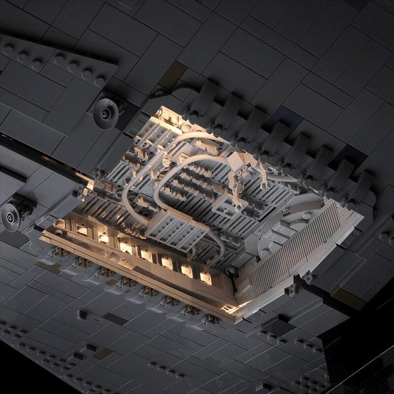 DHL 05027, Звездные игрушки, войны, MOC-23556, имперская звезда, комплект эсминца, совместим с Legoing 75252, детские игрушки, подарки, строительные блоки