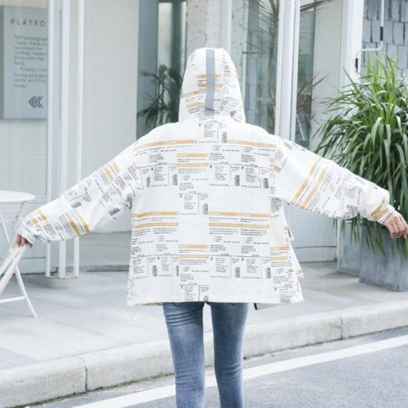 #9137 Spring Thin Casual Loose Hoodies Jackets Coats Women Plus Size Long Sleeve Jacket Ladies Big Pockets Hooded Streetwear 4