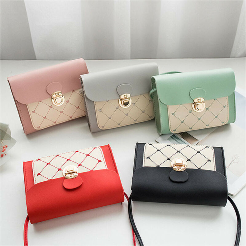 2020 Luxury Handbags Women Bags Designer PU Leather Metal Button Purse Wallet Vintage Shoulder Crossbody Bags For Women